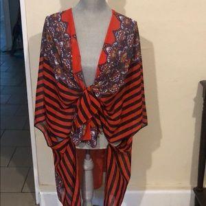 Fun patterned Kimono